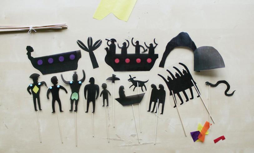 Stínové divadlo s Ani-Muk