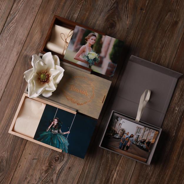 Custom Folio Boxes