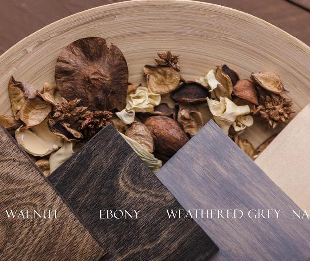 Wood Folio Box Color Options