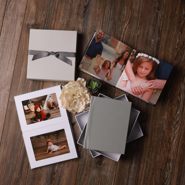 Matted or Full Page Albums