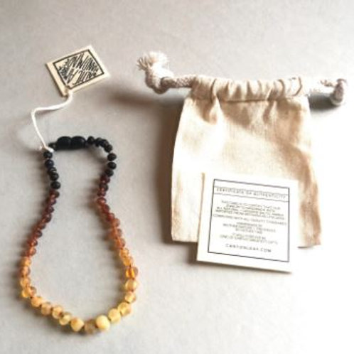 Raw Cognac Amber Teething Necklaces