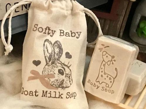 Organic Goats Milk Baby Soap
