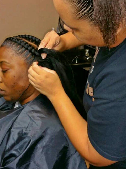 FEED-IN BRAIDS 101 9/25  6:30pm til 8:30pm
