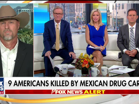 Sheriff Mark Lamb discusses cartel violence after 9 Americans are killed in Mexico