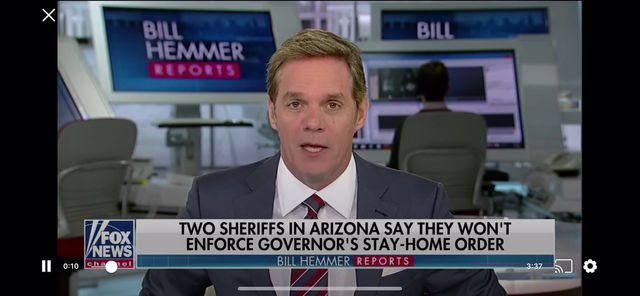 Sheriff Lamb defends Businesses and the Constitution