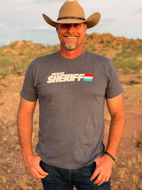 American Sheriff Retro Shirt - Men's - Navy