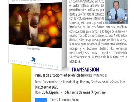 CAMINOS ESPIRITUALES DEL ASIA. Presentacion on line de Hugo Novotny