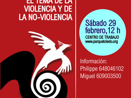 ENCUENTRO INFORMAL SOBRE LA VIOLENCIA Y LA NO VIOLENCIA
