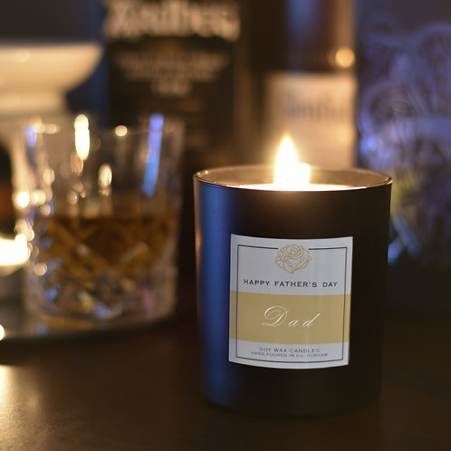 Personalised Scented Candle - Father's Day