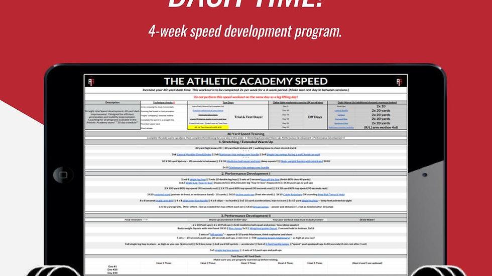 4-Week Speed: Increase Your 40-Yard Dash