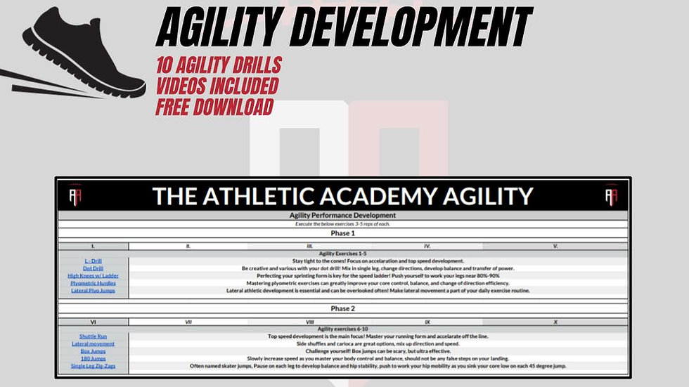 Agility Performance Development