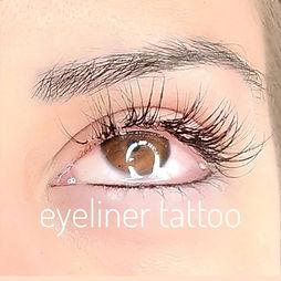 eyeliner tattoo, cosmetic tattoo