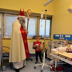 Mikołaj w Warszawskim Centrum Zdrowia