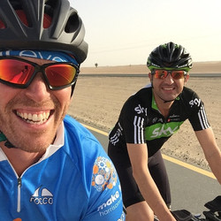 Instagram - 50km (1hr30) ride in the Dubai desert done by 9am this morning on an