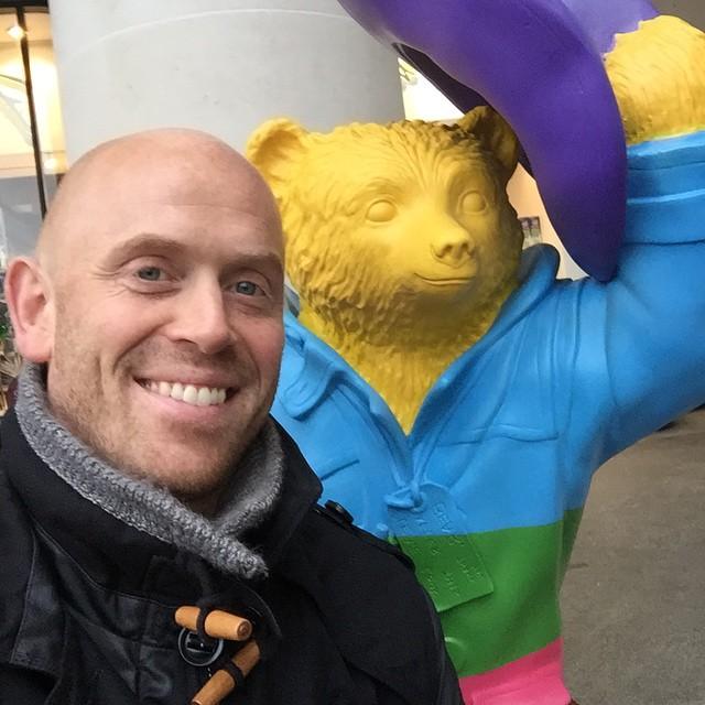 Instagram - #greatestIronman meets #DarcyBussel #RainbowBear
