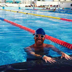 Instagram - #bellabayliss #ironcouple awesome swim session with an iron legend i
