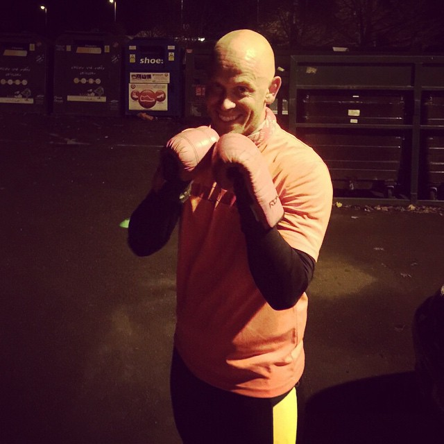 Instagram - Might have popped in a sneaky extra #CobhamRumble #boxing session po