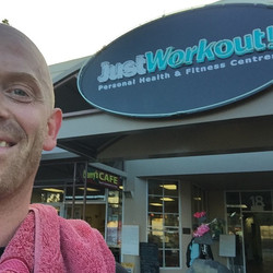 Instagram - Massive thank you to the team at 'Just Workout' Devonport who let me