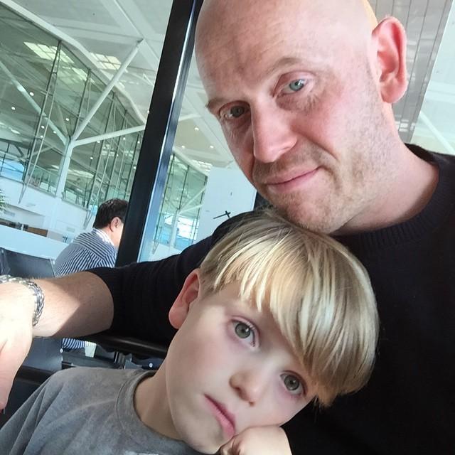 Instagram - #greatestIronman and #Ironkid2 #knackered #brisbane #nextstopNZ