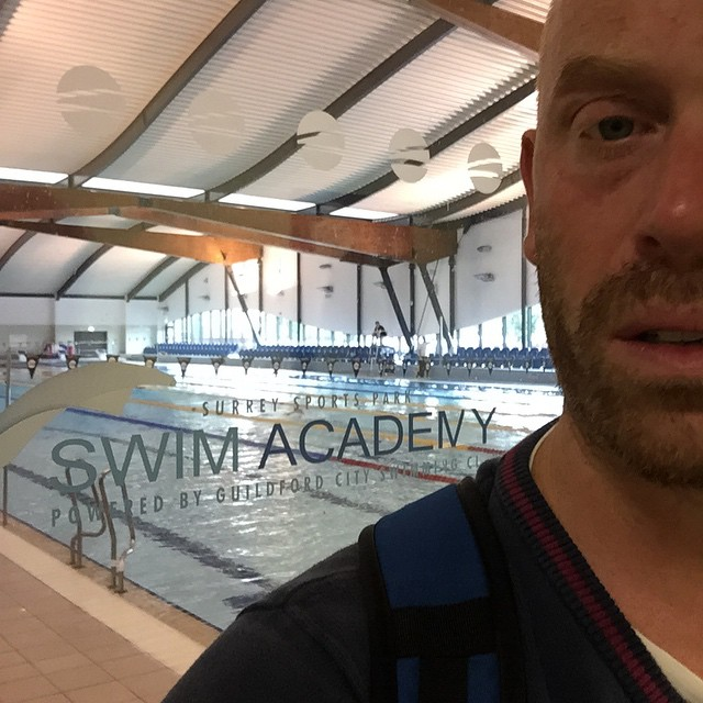 Instagram - Overslept this morning so a slightly rushed 3k swim set this morning