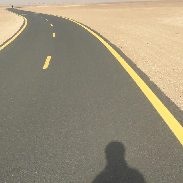 Instagram - 50km (1hr30) ride in Dubai desert done on epic @bikeonscott on the m