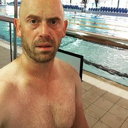 Instagram - Just out of the pool after another 3200m swim set, peak weeks at the