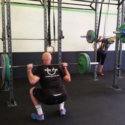 Instagram - Nice back squat shot from the deload session #Wendler at @newwave_cr