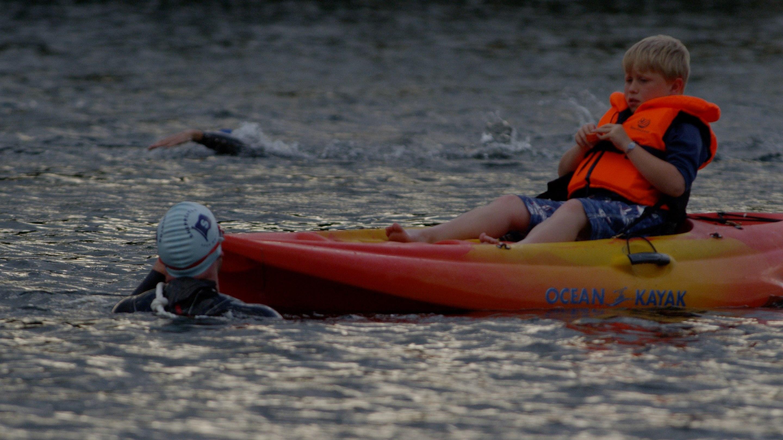 Alex and Harrison Sea Kayak