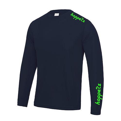 Endo Long Sleeve Tech Jersey French Navy
