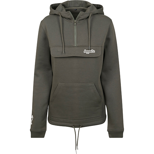 Booter Womens Hoodie Olive