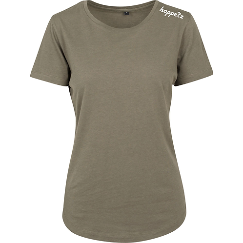 Delta Womens Tee Olive