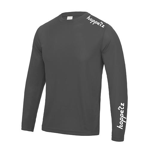 Endo Long Sleeve Tech Jersey Charcoal