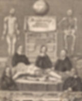 Morbid Doctors beening Curious represents Morbid Curiosity Tour