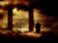 Ghostly image of vampire representing the Ghost and Vampire Tour