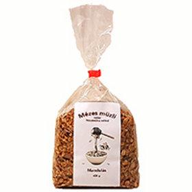 Mézesmüzli (granola) mandulás 400g db