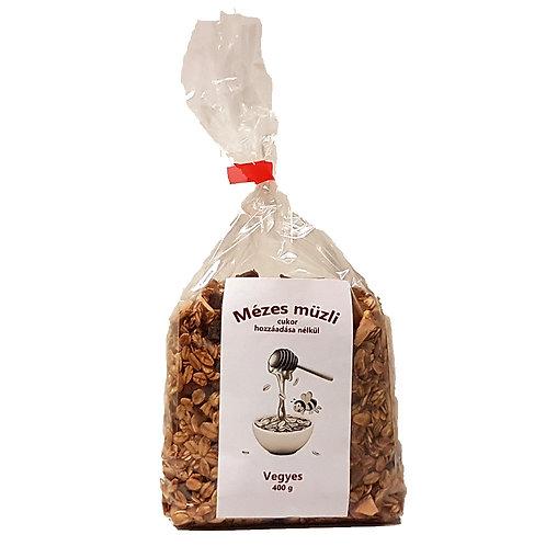 Mézesmüzli (granola) vegyes 400g db