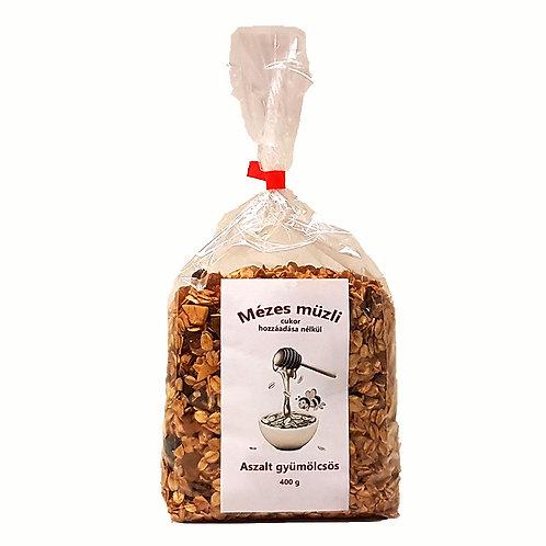 Mézesmüzli (granola) aszalt gyümölcsös 400g db