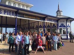 Eastbourne beach day trip