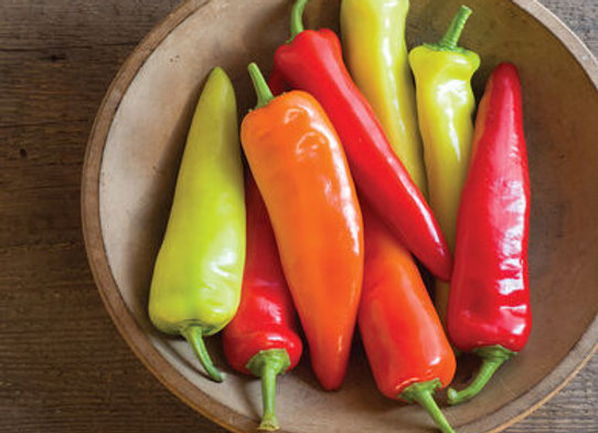 Pepper, Hungarian Hot Wax (Hot)