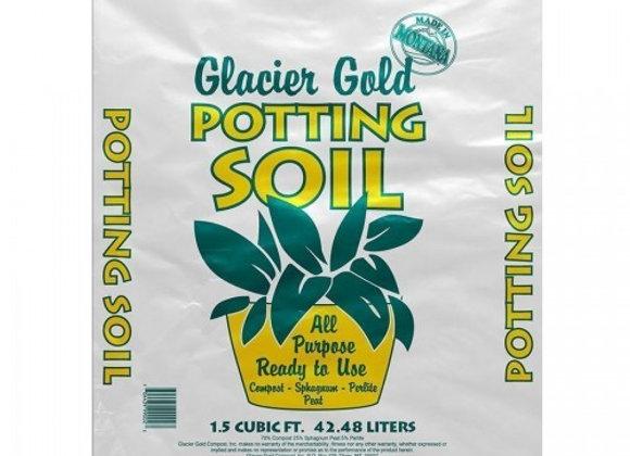 Glacier Gold Potting mix 1.5 CF