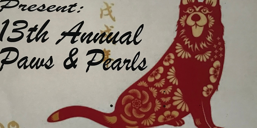 Paws & Pearls 13th Annual Fundraiser