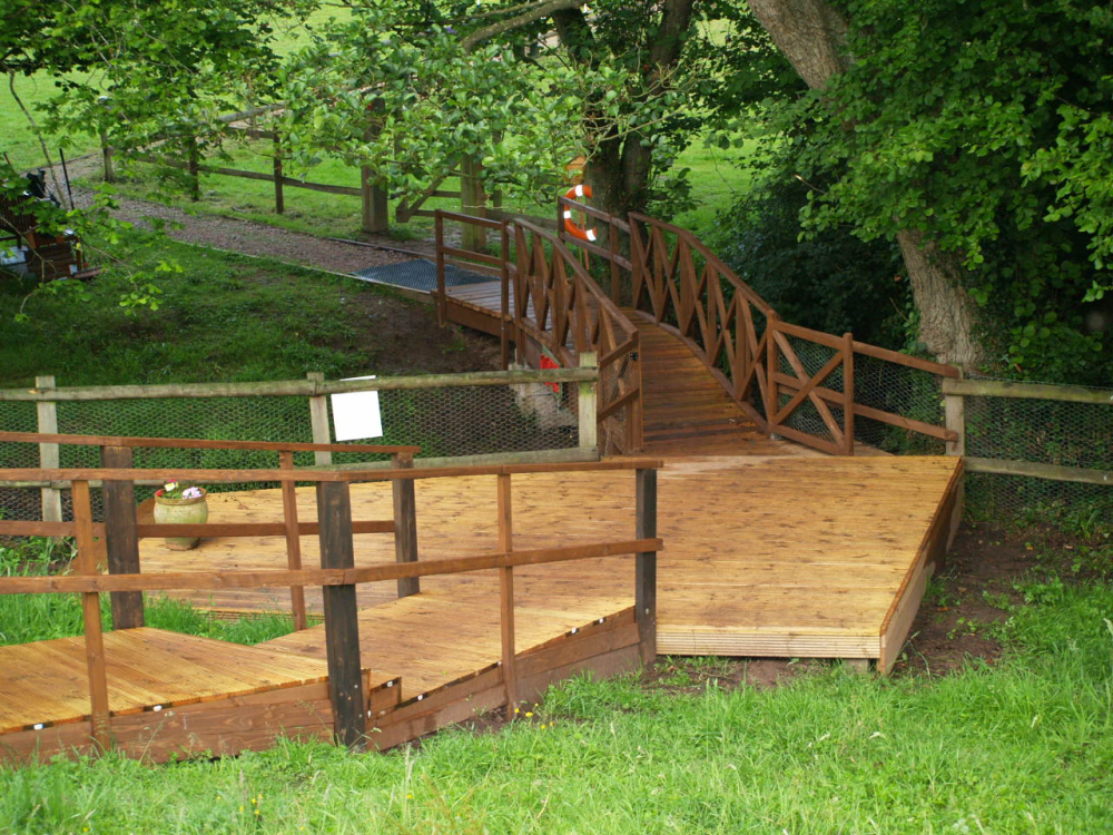 Steps to the Brook