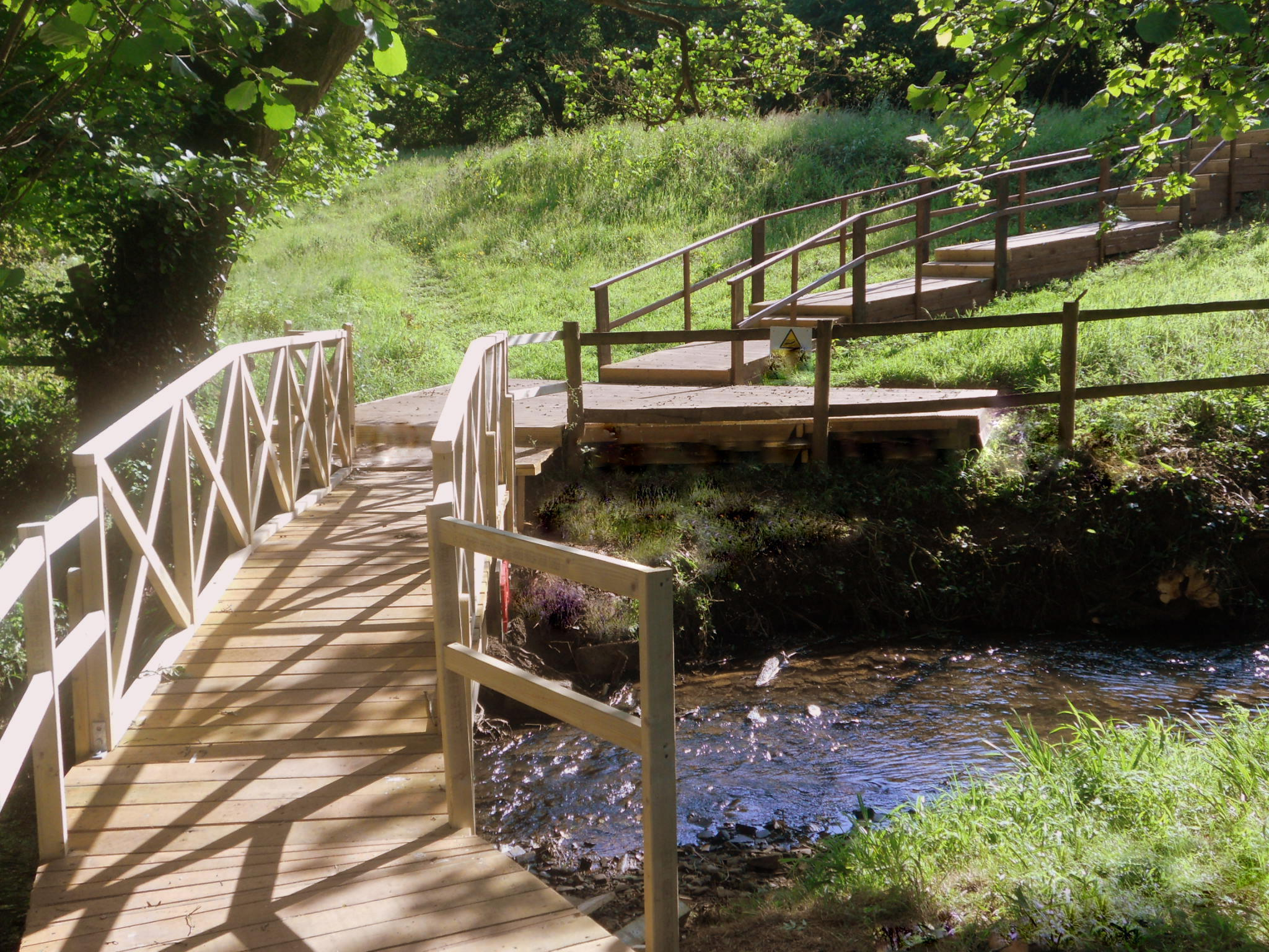 Bridge over the Brook