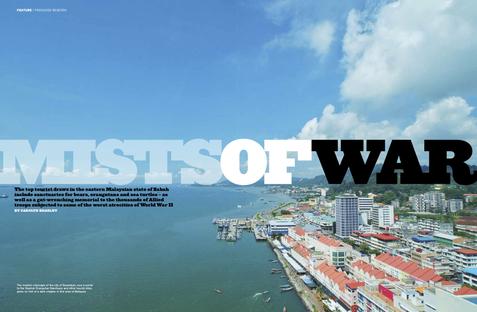 Mists of war - Southeast Asia Globe