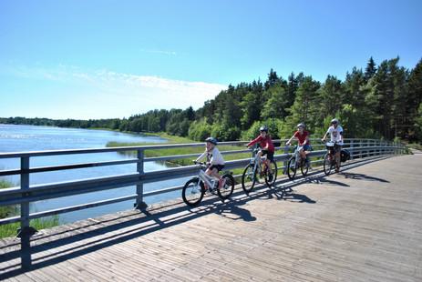 Biking through Finland with the kids - Straits Times