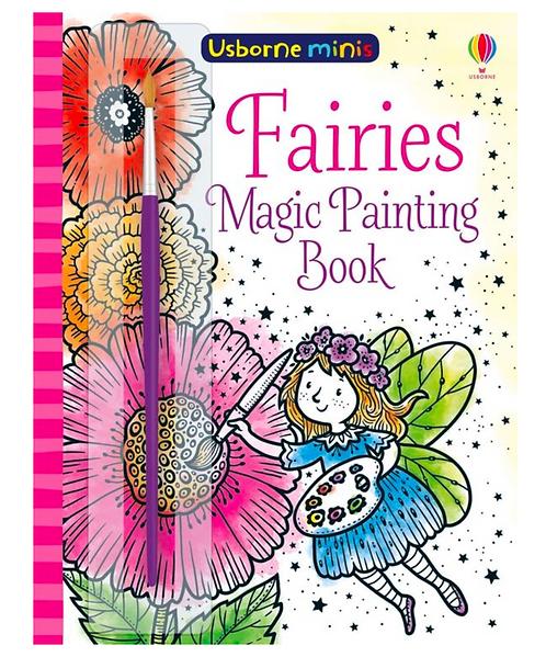 Magic Painting Book - Fairies