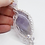 Thumbnail: Silver Plated Celtic Braid Amethyst Gemstone Necklace