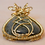 Thumbnail: Gorgeous Wire Wrapped Labradorite Gemstone Pendant with Celtic Knot Twist