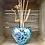 Thumbnail: Sea Spray Heart Mouth Blown Glass Reed Diffuser