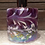 Thumbnail: Lilac Mist Inkwell Mouth Blown Glass Reed Diffuser